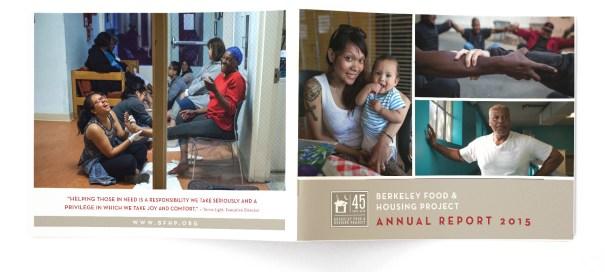 Annual Report design for non profit BFHP