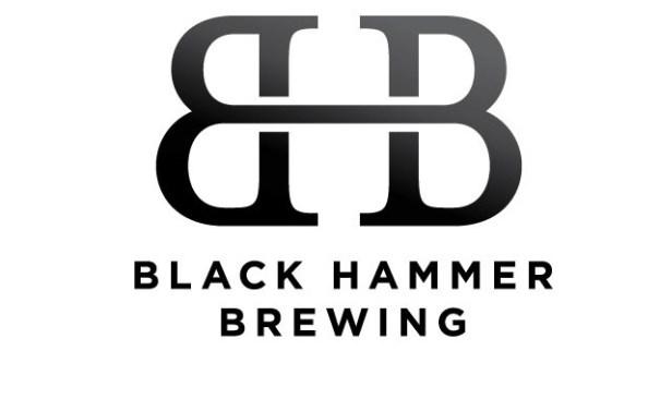 logo design for Black Hammer Brewing