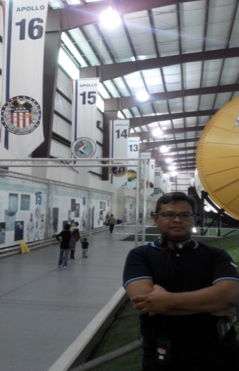 Berkesempatan melakukan napak tilas breakthrough salah satu perkembangan ilmu pengetahuan dan teknologi di Nasa Space Center, Houston, TX.