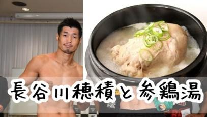 長谷川穂積の大丸高級サムゲタンの通販はある?1500円参鶏湯!