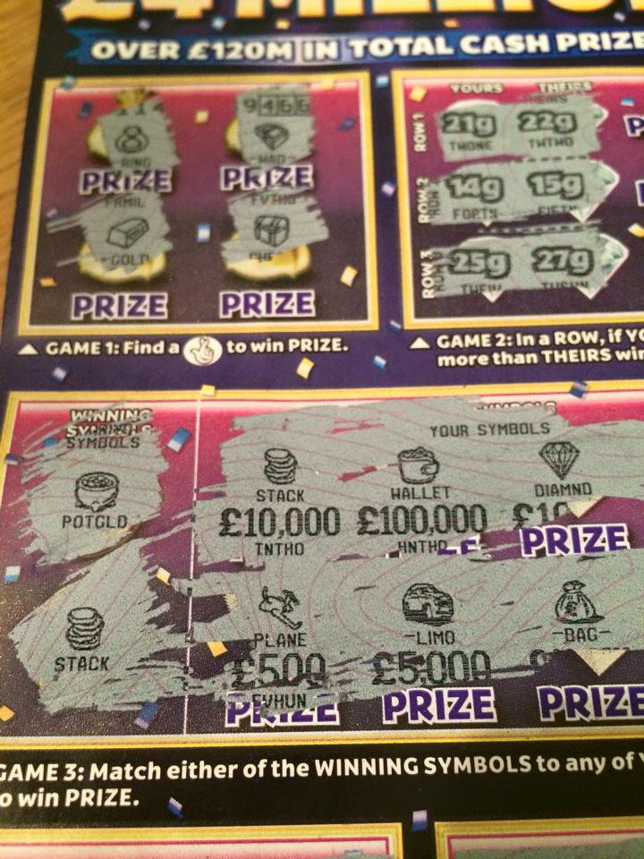 1000+ images about Scratchcards on Pinterest | National ...