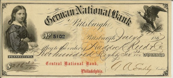 German_National_Bank_BankCheck 1867