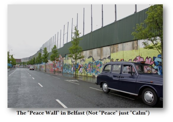 Belfast Peace Wall