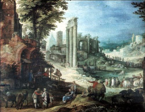 Roman-ruins Paul-Bril