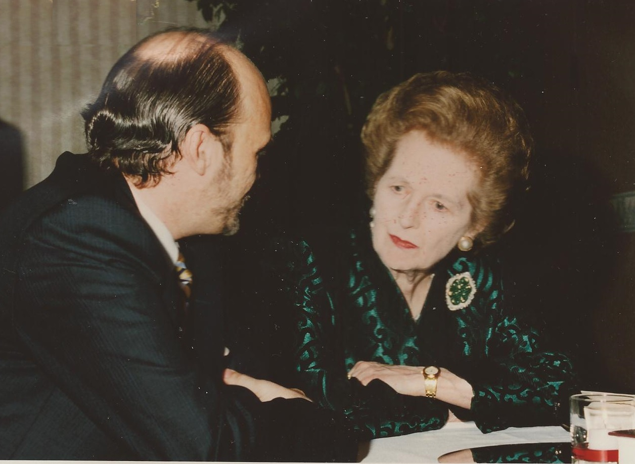 Martin Armstrong Margaret Thatcher