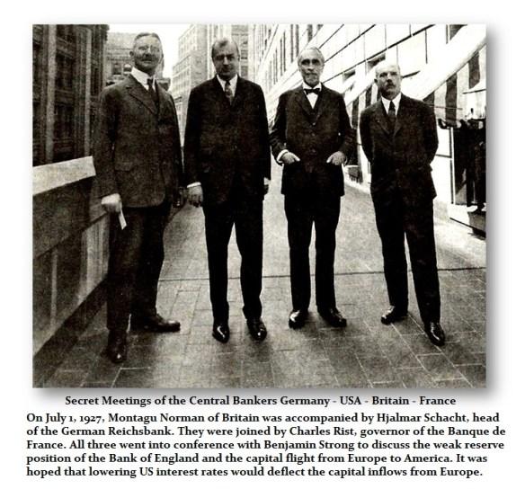 1927-Secret Cental Bank Meeting