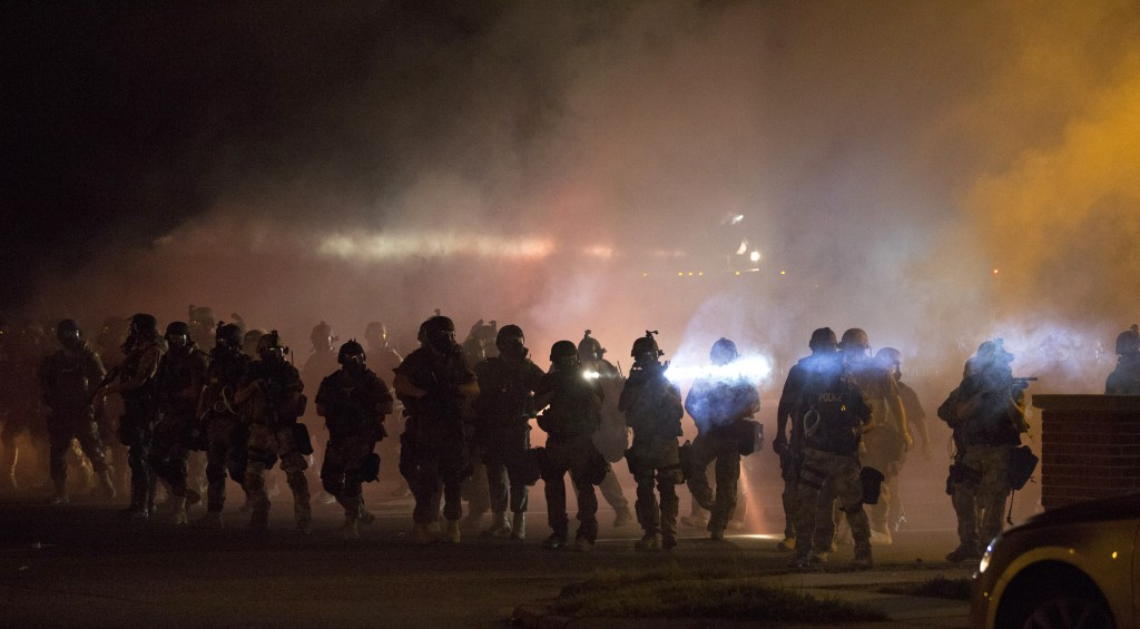 ferguson-Aug-2014 Militarization