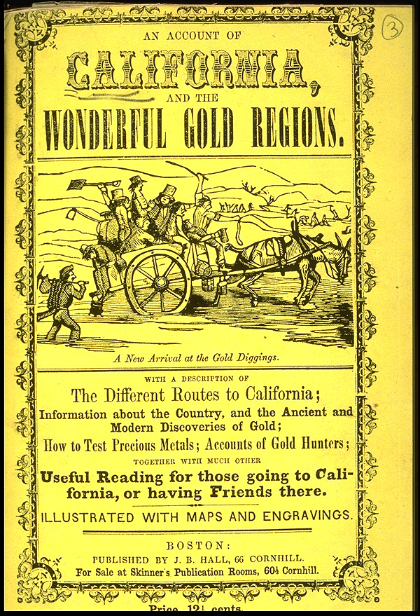 the gold rush of 1849 Transcript of the gold rush of 1849 new spreads though marshall and sutter tried to keep news of the discovery under wraps, word got out, and by mid-march at least one newspaper was reporting that large quantities of gold were being turned up at sutter's mill.