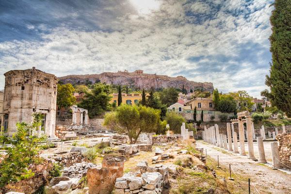 Athens-ruins