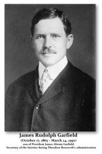 Garfield James Rudolf Sec Interior