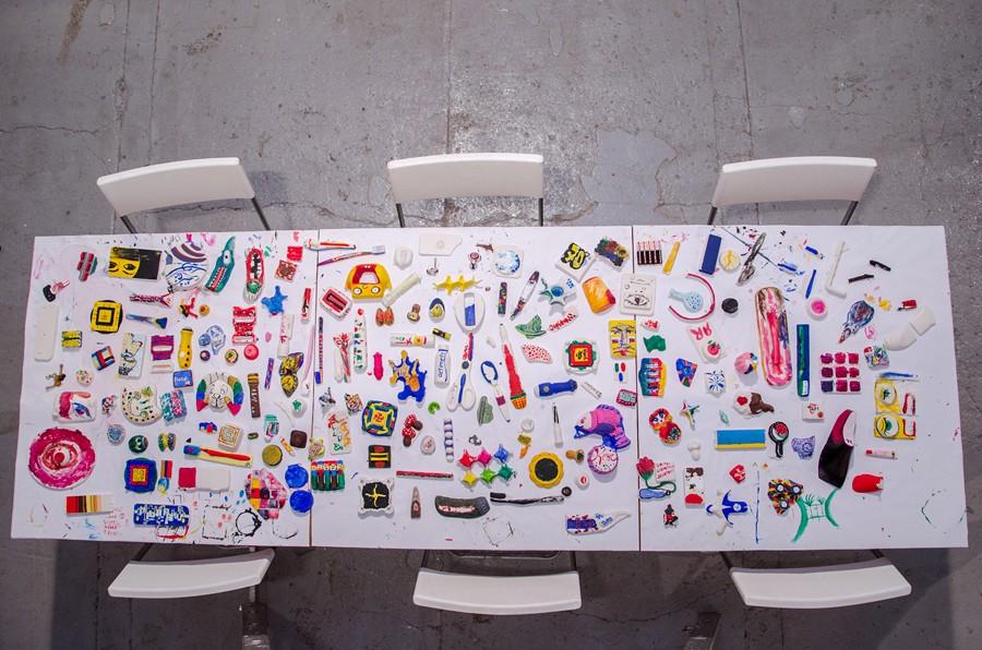Город Устинов, Фабрика свободного времени, 2013, арт-центр MAKARONKA, Ростов-на-Дону // Фото: Юрий Вернигов