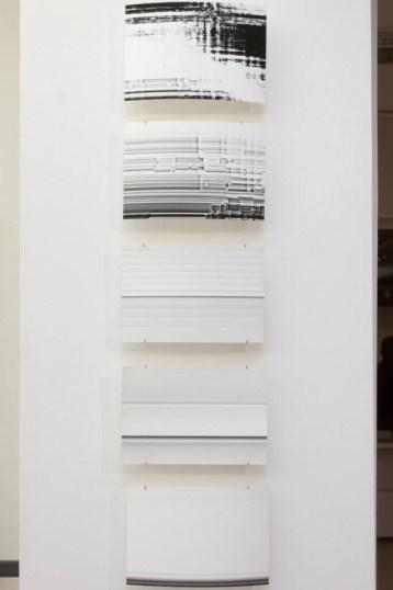 Работа Сергея Огурцова, «Игра света», Галерея «21», Москва, 2013 // Фото: галерея «21»
