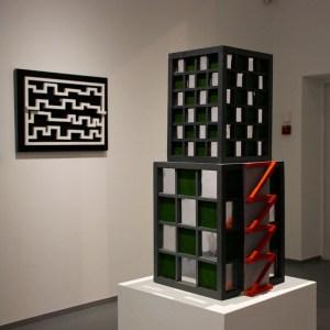 Музей современного искусства III. 2010. Дерево, картон. Собственность автора