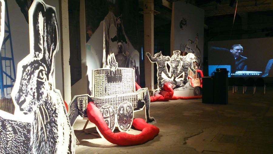 """Невроссия"", ЦТИ Фабрика, Москва, 2014 // Фото: Ольгв Данилкина"