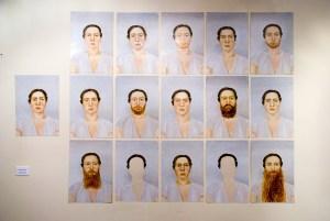 "Алена Терешко, ""Автопортрет"", Музей Москвы, Москва, 2014"