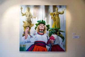 """Елена Ковылина """"Мир"""", Музей Москвы, Москва, 2014"""