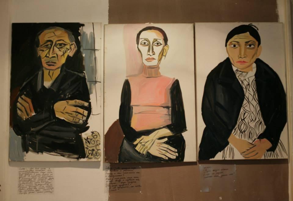 Евгения Голант, Дворники, 2012 // Проект с акцентом, Сона Степанян
