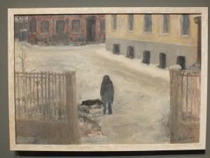 Улица Маркса - Энгельса (жена с собаками), 1991 // Фонд Михаила Рогинского