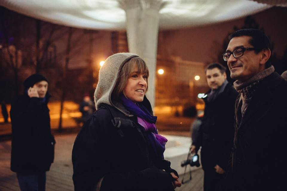 Саша Обухова // Фото: Максим Авдеев, МСК «Гараж»