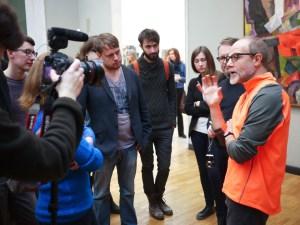 Лекционная программа в Третьяковской галерее // Фото: bazaeducation.ru