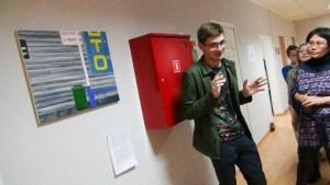 Внутренние выставки студентов // Фото: bazaeducation.ru