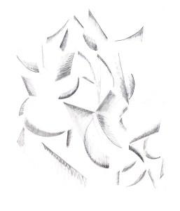 Рисунок в духе кубизма