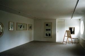 Работы из проекта «Кальки» (Tracings) на выставке «Неведомый шедевр», галерея Хоенталь унд Берген, Мюнхен, 1997