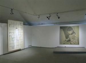 Вид выставки Александры Паперно «Живопись», ГЦСИ, Москва, 2004 // Фото: Владислав Ефимов