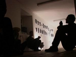 "Давид Тер-Оганьян, Вадерий Чтак, Second hand, галерея ""Франция"", 28 декабря 2002"