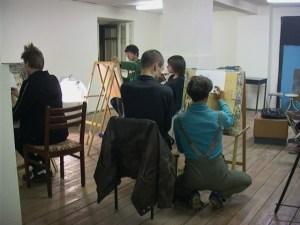 """Уроки рисования в галерее """"Франция"""""""