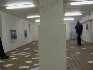 """Владимир Анзельм, Сражение остановлено, галерея """"Франция"""", 3 апреля 2002"""