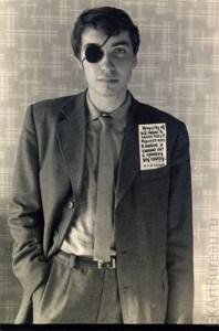 """Акция """"Повязка"""", 1983  //  Фото: www.conceptualism-moscow.org"""