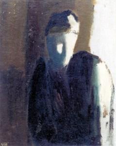 "Николай Константинов ""Портрет"", 1984"