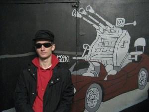 Валерий Чтак и Алексей Булдаков.TRUE GOTH. Живописная инсталляция. 28 апреля 2007 года