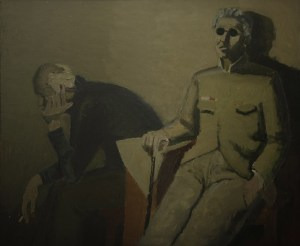 """Тимофей Теряев """"Воспоминания о войне"""", 1985-1987 // Из фондов ГОУК РОМИИ"""