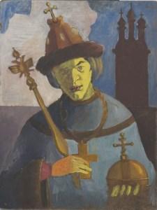 Константин Звездочетов. Автопортрет, 1979. Из собрания Музея МАНИ