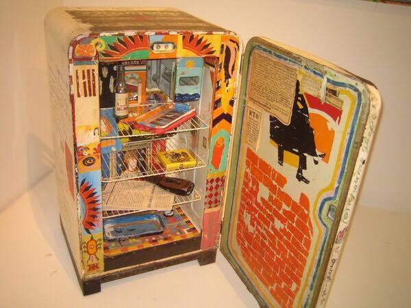 Константин Зведочётов. Роман-холодильник. 1982 // Государственная Третьяковская галерея