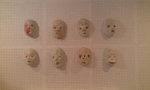 Группа ЖКП. Маски, объекты. Результаты экспериментов художников над пластикой лица, 2016