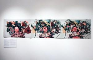 Камуфляж. Фотосессия, перформанс. Фотостудия арт-центра «Борей» (Санкт-Петербург). 1996. Авторы и участники: Вадим Флягин, Александр Ляшко. Фото: Александр Ляшко