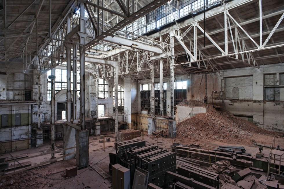 Реконструкция на ГЭС-2 // Фото: Глеб Леонов, V-A-C