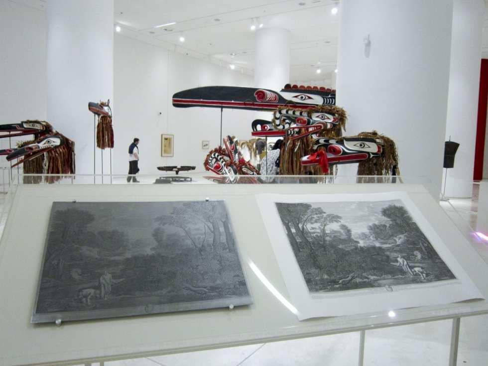 Elian Baudel. 'Paysage avec Diogene' after Nicolas Poussin. 2017
