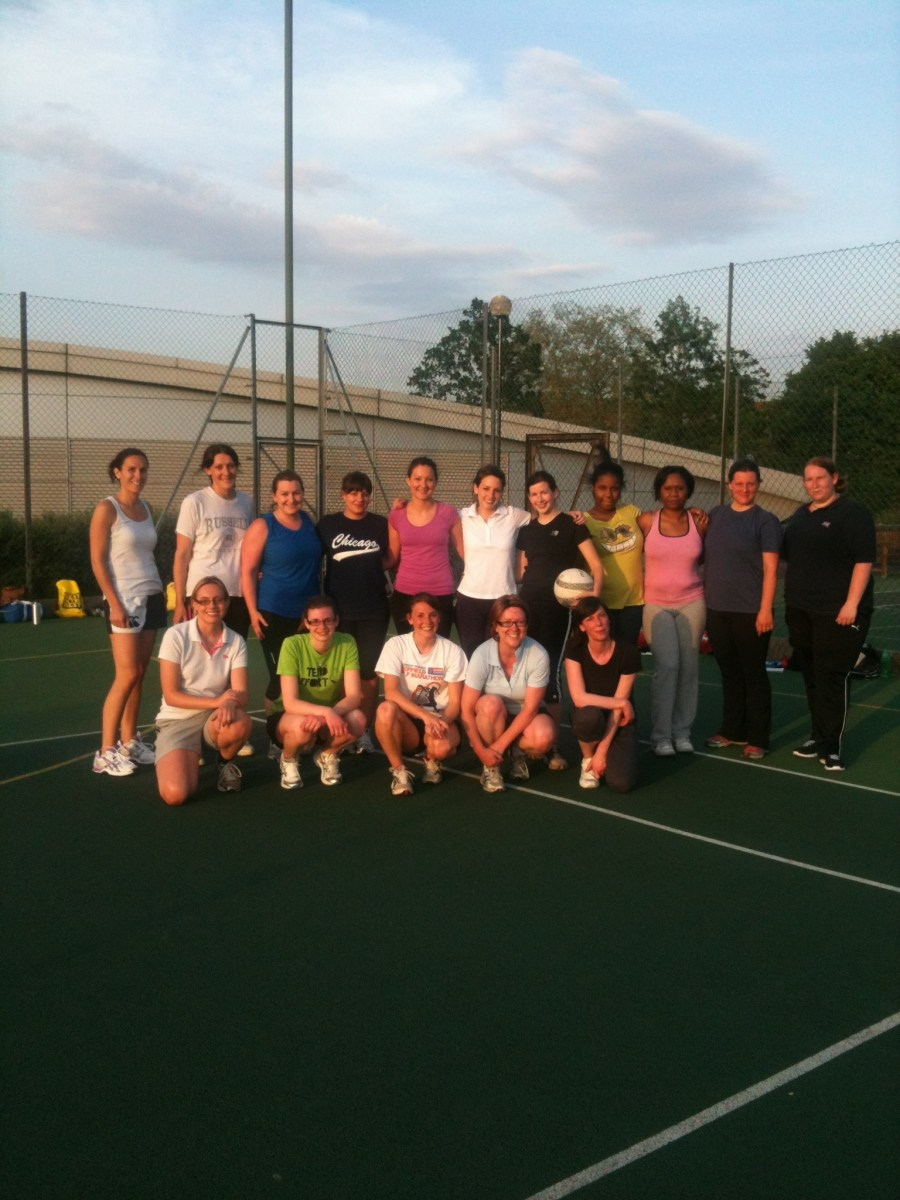 Back to Netball in Dulwich