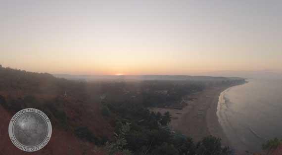 Sunrise in Arambol
