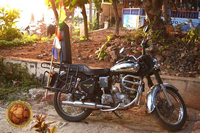 Royal Enfield Bullet Machismo 500 cc Goa - Kathmandu