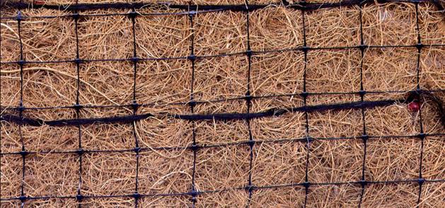 geomanta de fibra de coco
