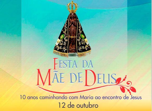 FESTA DA MAE DE DEUS - arte