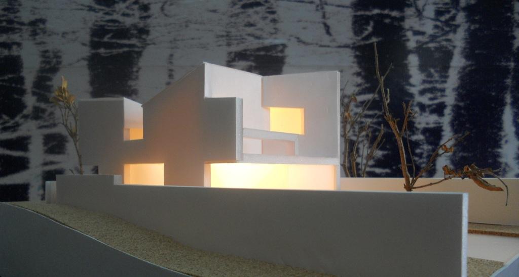 Estudio previo para vivienda unifamiliar en quintela ii moa a estudio de arquitectura e - Arquitectos vigo ...