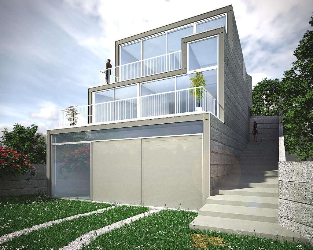 Local para alquiler venta de maquinaria y vivienda en - Estudios de arquitectura vigo ...