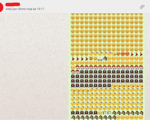 Travar WhatsApp de um contato