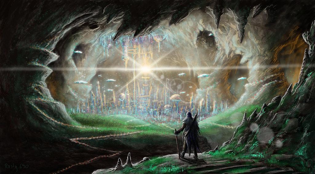 Agartha: A world in Earth's core?